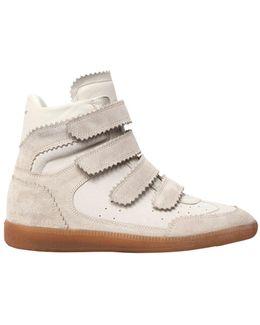 40mm Bilsy Suede Wedge Sneakers
