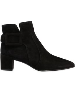 45mm Polly Suede Ankle Boots