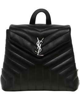 Loulou Small Monogram Leather Backpack