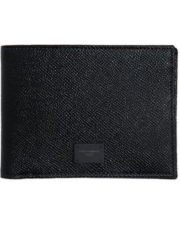 Dauphine Leather Classic Wallet