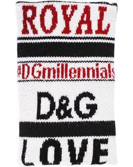 |dgmillennials Jacquard Wool Cuffs