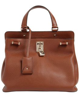 Medium Piper Grained Leather Bag