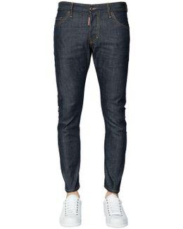 16cm Sexy Twist Stretch Denim Jeans