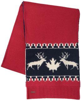 Deer Wool & Alpaca Knit Scarf