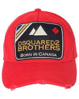 Brothers Patch Canvas Baseball Hat
