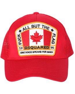 Logo Patch Canvas & Mesh Trucker Hat