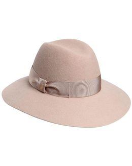 Claudette Wide Brimmed Felt Hat