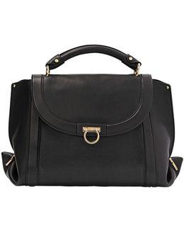 Medium Soft Sofia Leather Top Handle Bag