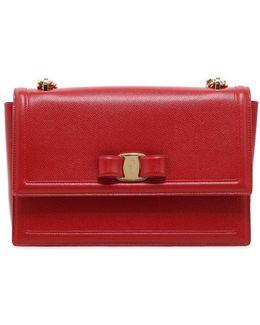 Ginny Leather Shoulder Bag