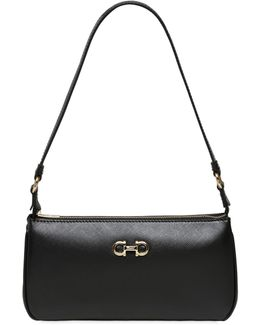 Lisetta Saffiano Leather Shoulder Bag