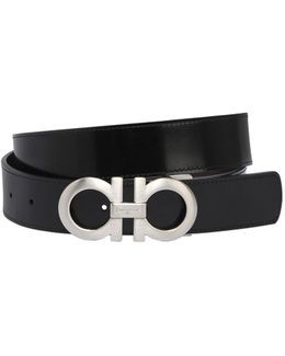 35mm Reversible Leather Belt