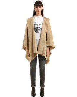 Raw Cut Wool Tweed Jacket