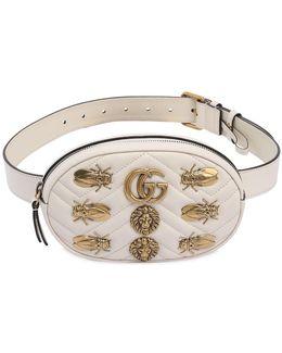 Small Gg Marmont Belt Pack W/ Appliqués