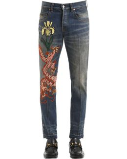 17.5cm Dragon Stone Washed Jeans