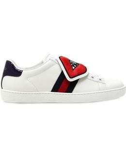 New Ace Leather Sneakers With Patches