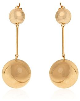 Sphere Drop Earrings