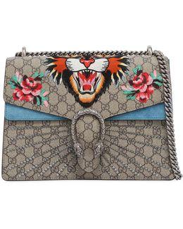 Medium Dionysus Angry Cat Gg Supreme Bag