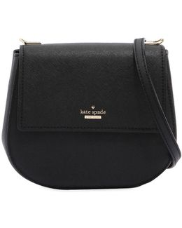 Small Byrdie Saffiano Leather Bag