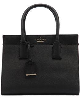 Small Candace Saffiano Leather Bag
