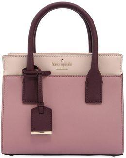 Mini Candace Two Tone Leather Bag