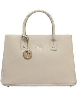 Small Linda Saffiano Leather Bag