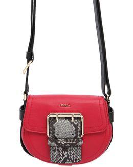 Mini Hashtag Leather Shoulder Bag