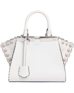 Mini 3jours Scalloped Leather Bag
