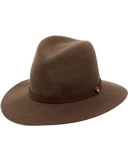 Floppy Brim Wool Felt Fedora Hat