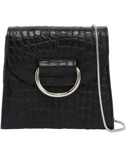 Tiny Box Embossed Leather Bag
