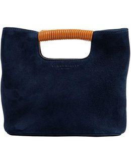 Mini Birch Nubuck Leather Bag