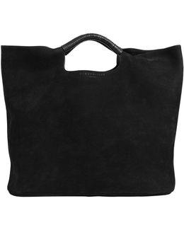Large Birch Nubuck Leather Bag