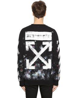 Galaxy Stripes Cotton Sweatshirt
