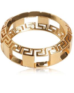 Greek Motif Cutout Ring