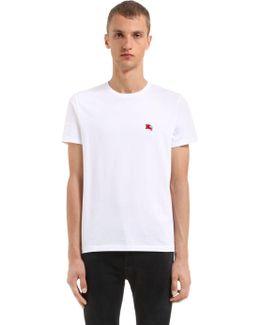 Logo Detail Cotton Jersey T-shirt