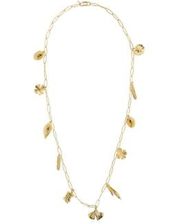 Aurelie Chain Necklace With Charms