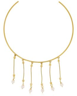 The Rebirth Choker Necklace W/ Pearls