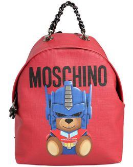Small Teddy Transformer Backpack