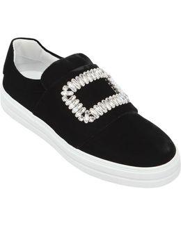 20mm Sneaky Viv Velvet Sneakers