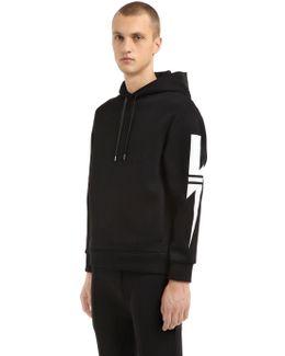 Neoprene Hooded Sweatshirt W/ Bolts