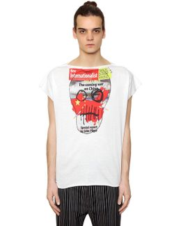 Printed Cotton Jersey T-shirt