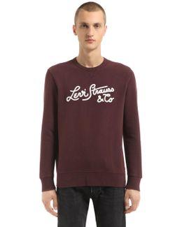 Levi's Stiched Logo Cotton Sweatshirt