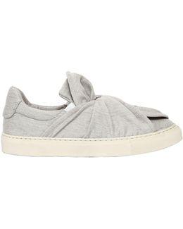 20mm Knot Wool Blend Slip On Sneakers