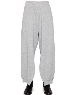 Brushed Cotton Jersey Sweatpants