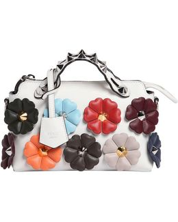 Mini By The Way Flowers Leather Bag