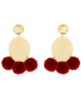 Stevie Pompom Earrings
