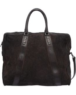 Leather Bag W/ Vintage Effect