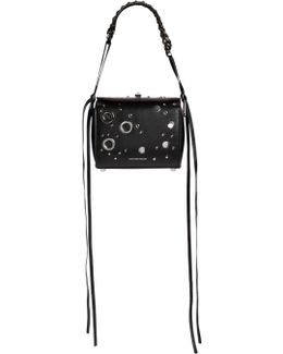 Medium Leather Box Bag W/ Eyelets