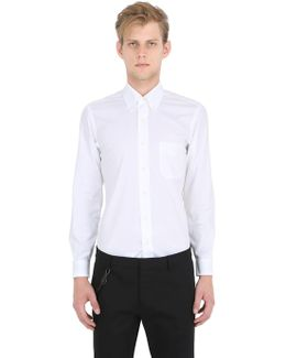 Milano Slim Cotton Pinpoint Shirt