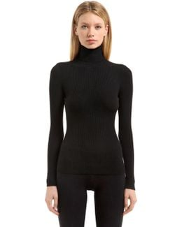 Fine Merino Rib Knit Sweater