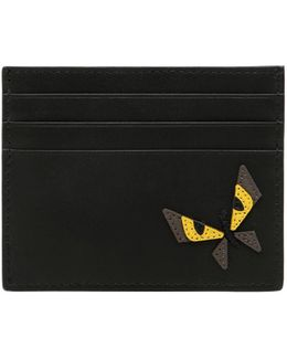 Monster Butterfly Leather Card Holder